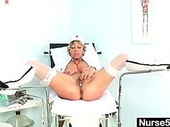 Uniform Milf Vanda perverted stethoscope insertion
