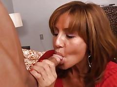 Honey Tara Holiday rams a hard shlong down her mouth