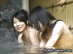 Hawt Oriental hottie is fucked in the sexy spring 5 by PublicJapan