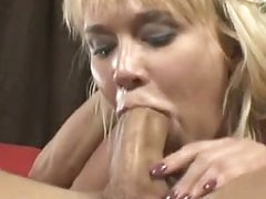 Busty Wang Floozy Carly Parker Giving A Sloppy Mean Oral sex On Rock Hard Wang