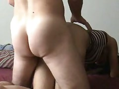 I can not ever take my eyes off my wife's butt. I like fucking her doggy style so I can look at it. What do you think of her butt? I think it is just the right shape and size. I know it makes my dick hard each time I watch her arse naked.