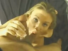 This whore's long skilful tongue gives guy with camera in his hands lots of incredible hawt feelings.