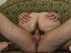 Slutty grandma gets fucked by her toyboy
