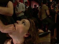 Hot beautiful cutie drilled and dominated in real bondage!