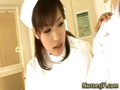 Hot oriental nurse wench